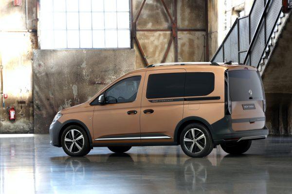 VW Caddy PanAmericana indoor