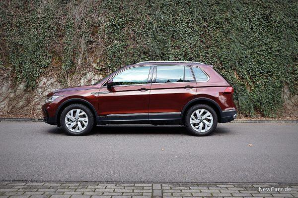 VW Tiguan Facelift Seite