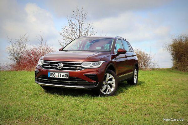 VW Tiguan Facelift offroad