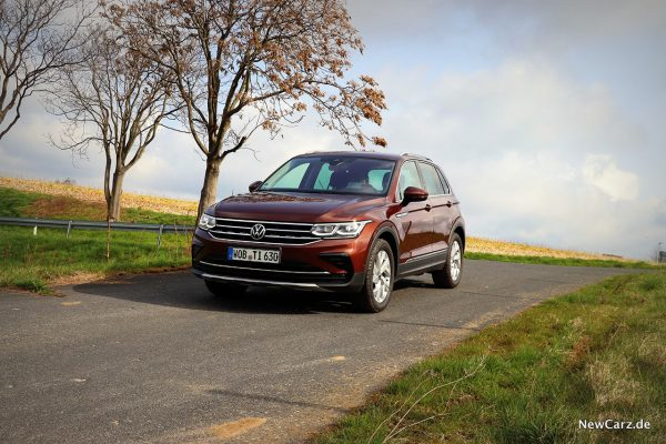 VW Tiguan Facelift schräg vorn links