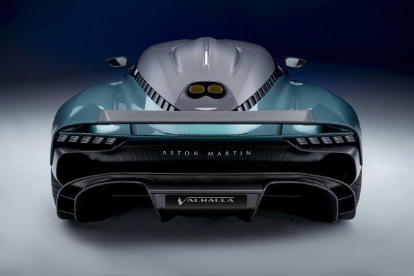 Aston Martin Valhalla Concept Heck