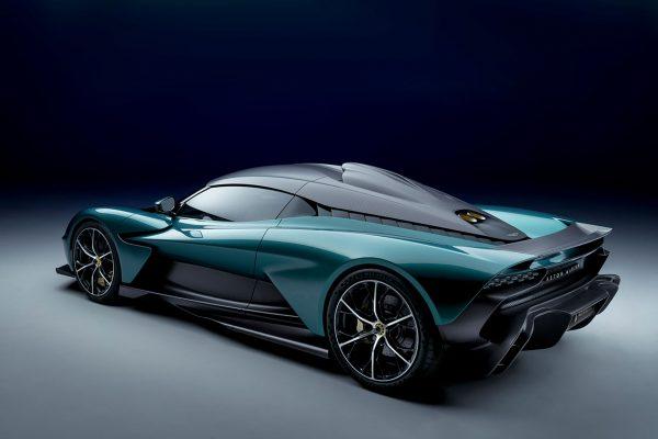 Aston Martin Valhalla Concept schräg hinten links