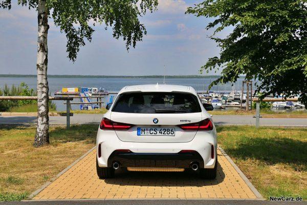 BMW 128ti Heck
