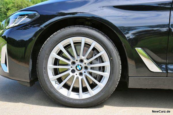 Vorderrad BMW 540d Touring