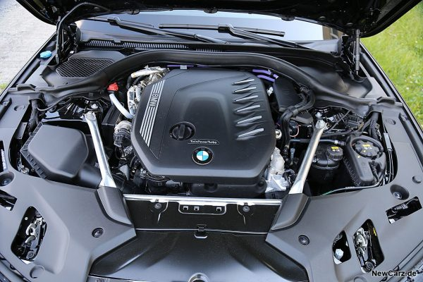 Motorraum 540d