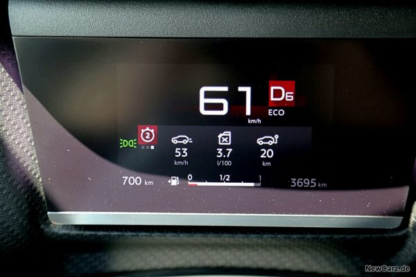 Sparrunde Verbrauch Citroen C4 PureTech 130
