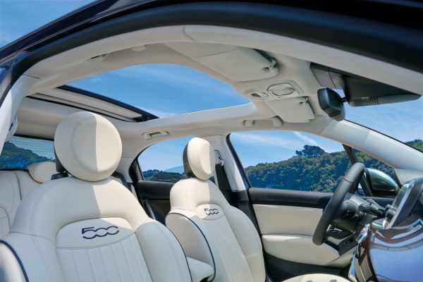 Interieur Fiat 500X Yachting