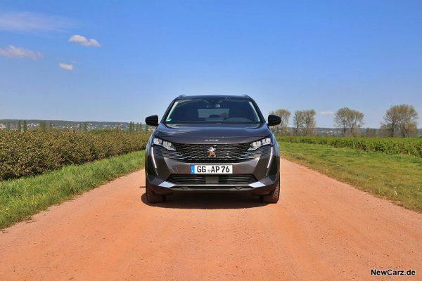 Peugeot 5008 Facelift Front