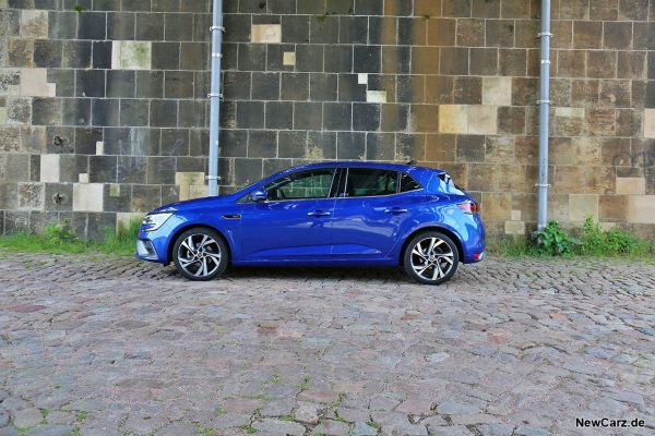 Renault Megane RS Line Seite
