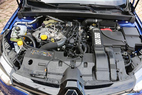 Motorraum Megane