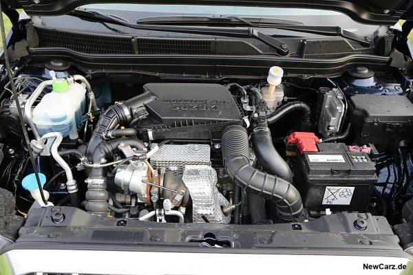 Motorraum SX4