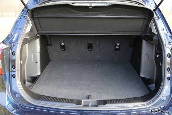 Kofferraum SX4