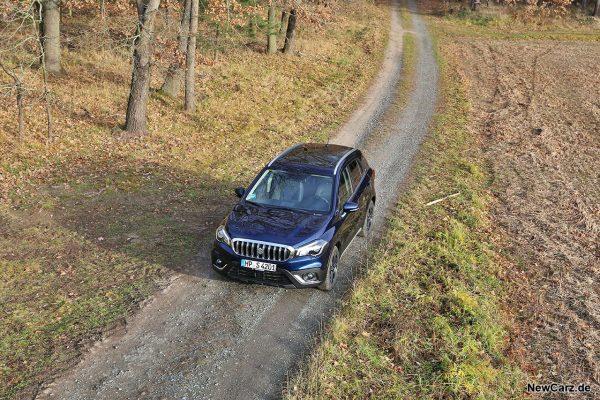 Suzuki SX4 S-Cross Hybrid von oben