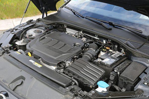Motorraum Arteon Diesel