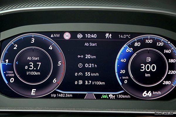 Sparrunde Verbrauch VW Arteon Shooting Brake 2.0 TDI 200 PS