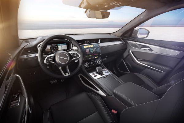 Jaguar Innenraum