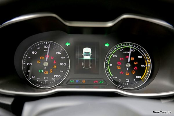 Cockpit MG ZS EV
