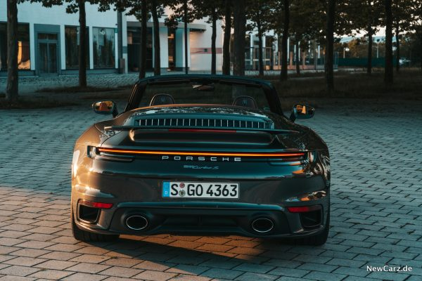 Porsche 911 Turbo S Cabrio Heck