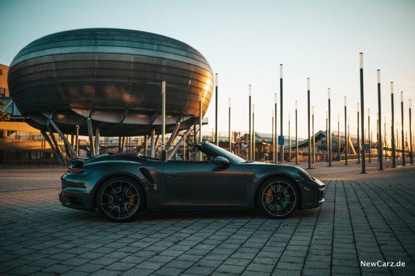 Porsche 911 Turbo S Cabrio Verdeck offen