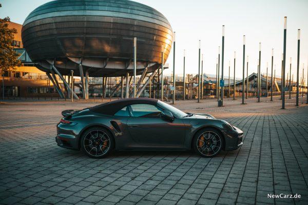 Porsche 911 Turbo S Cabrio Verdeck geschlossen