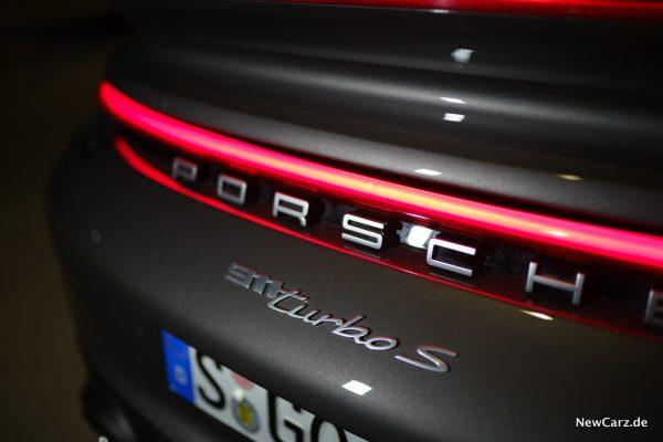 911 Turbo S Schriftzug
