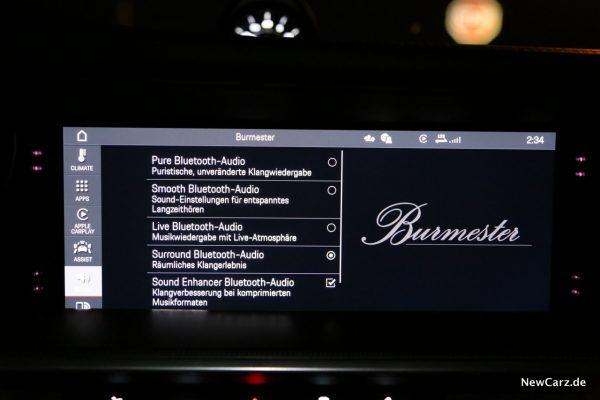 Porsche Burmester