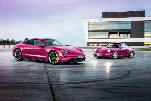 Porsche Taycan Sternrubin