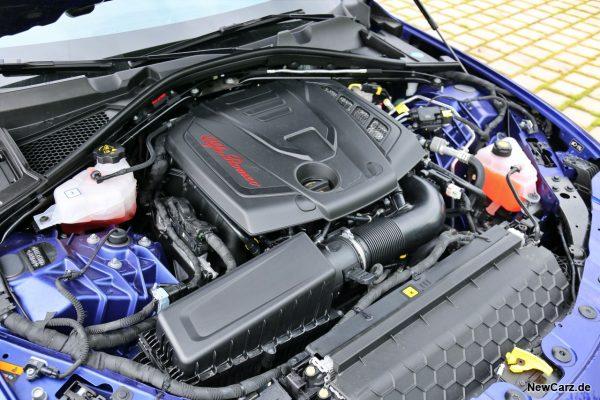 Motorraum Giulia
