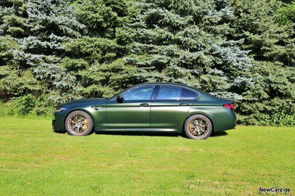 BMW M5 CS Seite