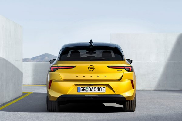 Opel Astra L Heck