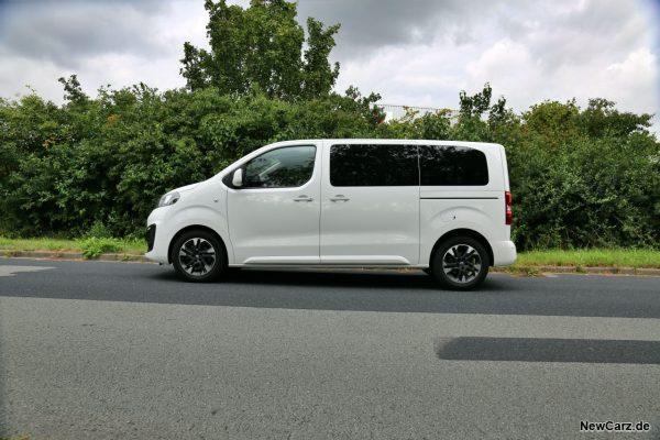 Opel Zafira Life Seite
