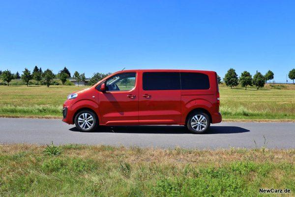 Peugeot Traveller Seite