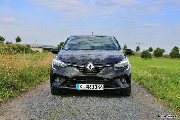 Renault Clio Hybrid Front