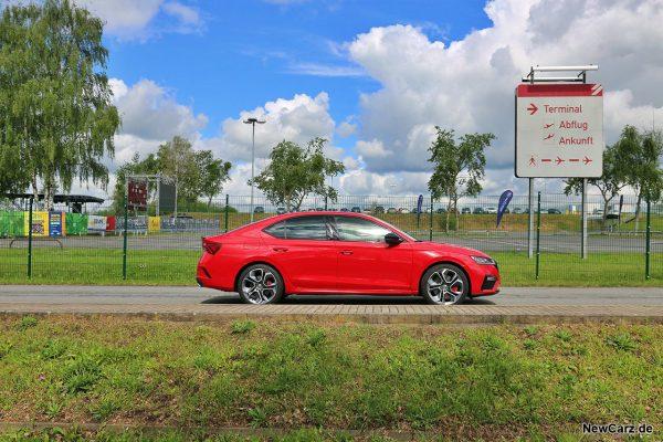 Skoda Octavia RS TSI Seite