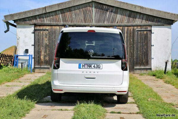 VW Caddy 5 Heck