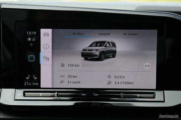 Sparrunde Verbrauch VW Caddy 5 2.0 TDI 90 kW