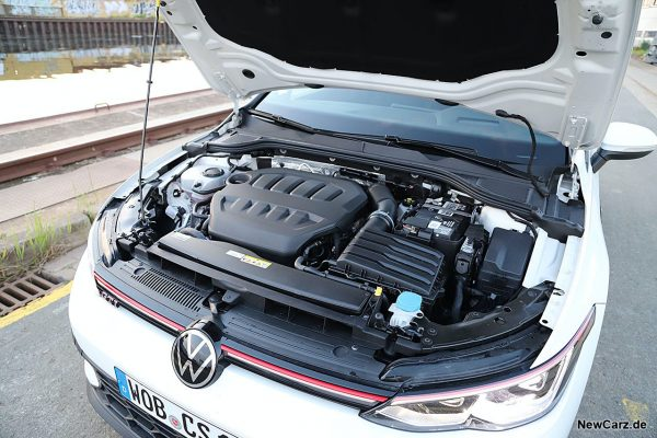 Motorraum VW Golf GTI Clubsport