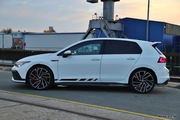 Seitenansicht VW Golf GTI Clubsport